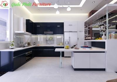 Tủ bếp đẹp cho gian bếp đẹp