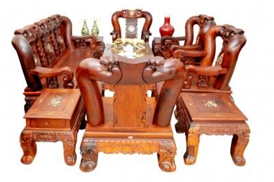 Salon – Triện gỗ Hương