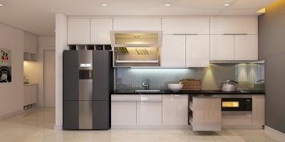 Tủ bếp đẹp Melamine