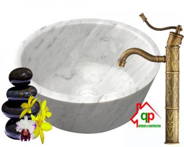 Chậu rửa lavabo đá tự nhiên